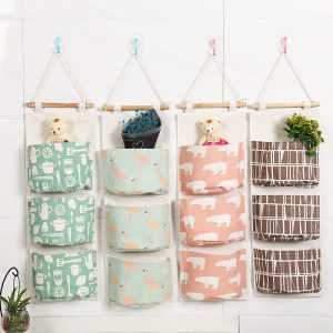 Cute Cotton Hanging Organizer