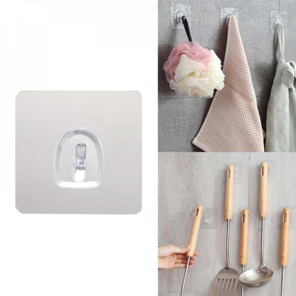 Transparent Adhesive Hooks