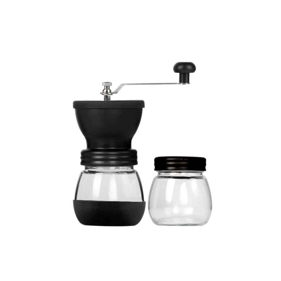 Coffee Bean Grinder With Glass Storage Jar