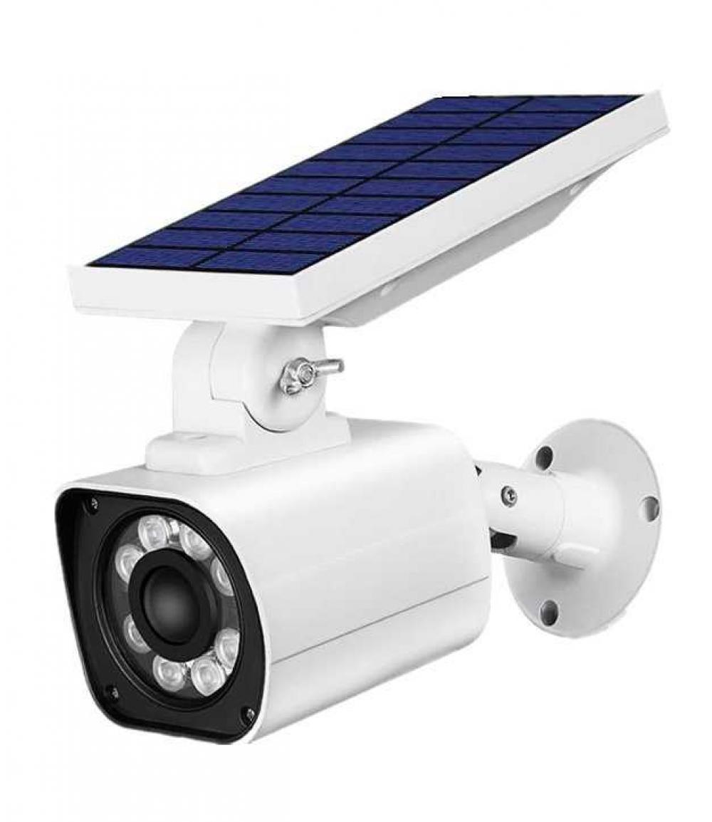 Solar Powered PIR Motion Sensor Preventive Monitoring Anti Thief Garden Lamps