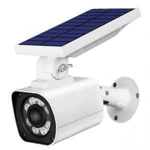Solar Powered PIR Motion Sensor Preventive Monitoring Anti Thief Garden Lamps