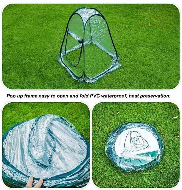 Portable Mini Pop Up Greenhouse