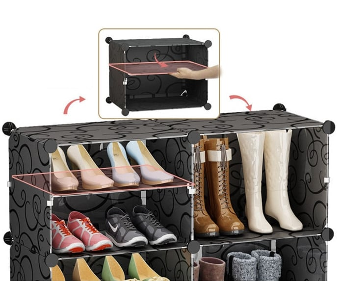 Free Combination Shoe Box