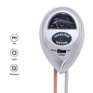 3 in 1 Soil PH Moisture Meter For Plants