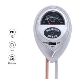 3 in 1 Soil PH Moisture Meter For Plants