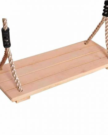 Antiseptic Wooden Swing With Rope For Children and Adult