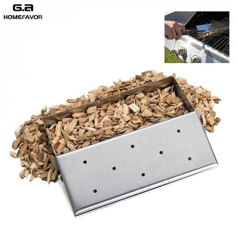 Wood Chip Smoker Box