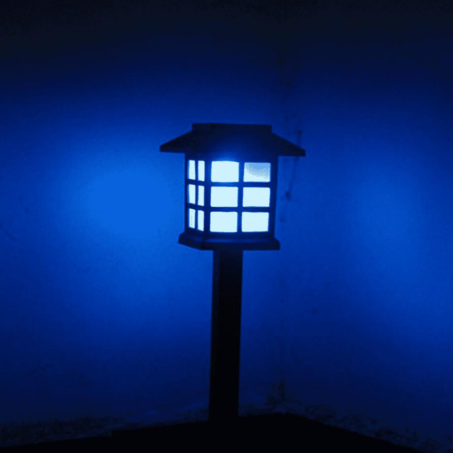 Solar Powered Garden Pathway Landscape Lights
