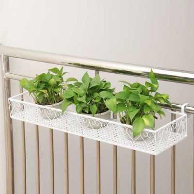 Balcony Railing Planters - ShopHomy