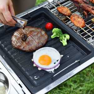 Non-stick Stainless Steel BBQ Grill Pan